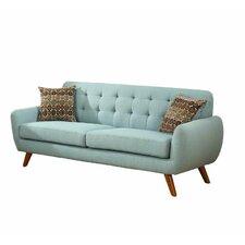 Retro Mid-Century Sofa and Loveseat Set