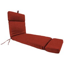 Polyester Outdoor Chaise Lounge Cushion