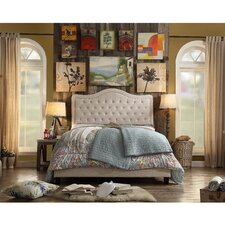 Turin Upholstered Panel Bed by Darby Home Co®