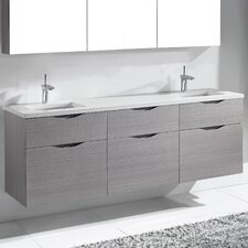 "Bolano 72"" Double Bathroom Vanity Set"