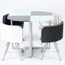 Slade Dining Set with 4 Chairs