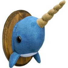 Narwhal Faux Taxidermy 3D Wall Décor