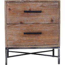 2 Drawer Nightstand by PoliVaz