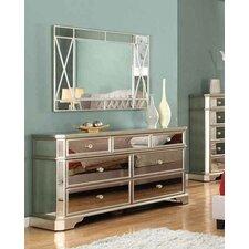 Borghese 7 Drawer Dresser by BestMasterFurniture