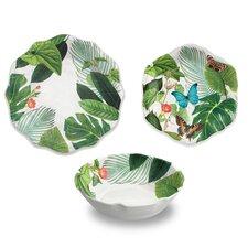 Cheshire Melamine Floral 12 Piece Dinnerware Set