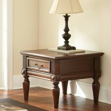 Pothos End Table by Bay Isle Home