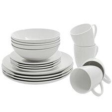 Wayfair Basics 16 Piece Porcelain Dinnerware Set, Service for 4