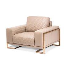 Mia Bella Gianna Leather Chair and a Half by Michael Amini (AICO)