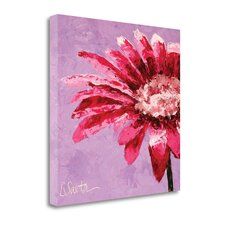 Pink Is For Girls' Print on Canvas