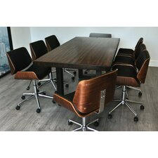 "Rebus 7'2"" Rectangular Conference Table Set"