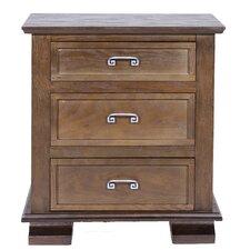 Cavali 3 Drawer Nightstand by REZ Furniture
