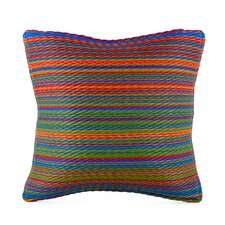 World Indoor/Outdoor Throw Pillow by Fab Habitat