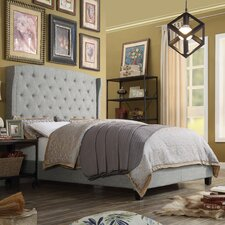 Noblesville Upholstered Panel Bed