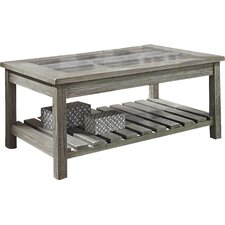 Briarwood Coffee Table with Magazine Rack