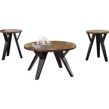 Sliva 3 Piece Coffee Table Set by Mercury Row