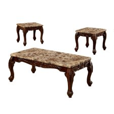 Albertus 3 Piece Coffee Table Set