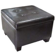 Youngstown Leather Storage Ottoman by Alcott Hill