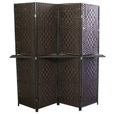 "Patpong 70.75"" x 70.5"" 4 Panel Room Divider"