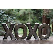 XOXO Metal Wall Décor