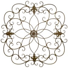 Floral Metal Wall Décor
