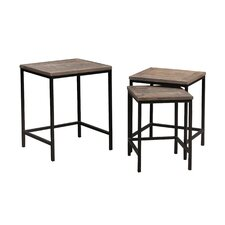 Robbe 3 Piece Nesting Tables by 17 Stories