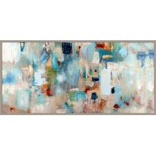 'Jazz Abstract Giclée' Framed Drawing Print