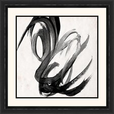 'Paint It II' Framed Painting Print