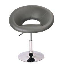 Mazzeo Contemporary Adjustable Swivel Papasan Chair
