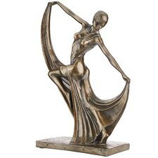 Mistress of the Dance Art Deco Statue