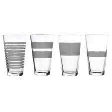 Longdrink 4 Piece 325ml Juice Glass Set
