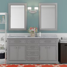 Colchester 60 Double Sink Bathroom Vanity Set - Grey by Darby Home Co®