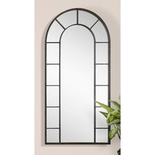Vertical Silhouette Black Wall Mirror