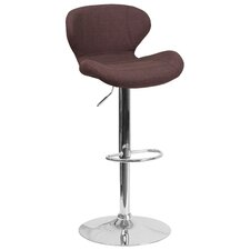 Mullaney Adjustable Height Swivel Bar Stool