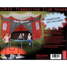 12' Trampoline Club House