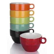 6 Pieces Rainbow Stacking Cup Set
