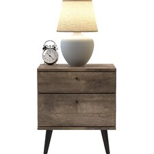 Norloti 2 Drawer Nightstand