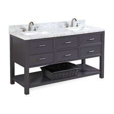 New Hampshire 60 Double Bathroom Vanity Set by Kitchen Bath Collection