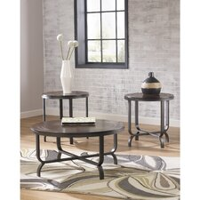Badminton 3 Piece Coffee Table Set by Latitude Run