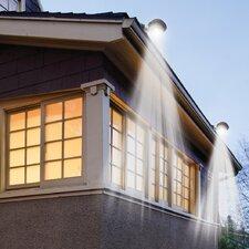 Solar 3-Light LED Rail Light (Set of 2)