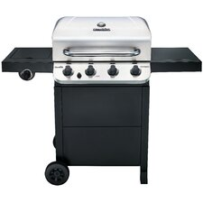 Performance 4-Burner Propane Gas Grill with Side Burner