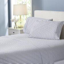 Wayfair Basics Striped 4-Piece Sheet Set