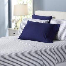 Wayfair Basics Striped 6 Piece Sheet Set