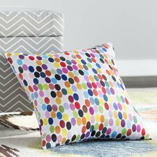 Jaden Christopher Syre Dots Throw Pillow by Viv + Rae