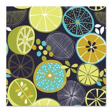 Luscious Limes 1 Graphic Art by East Urban Home