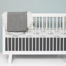 Teepee Fitted Crib Sheet