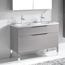 Milano 48 Double Bathroom Vanity Set by Madeli