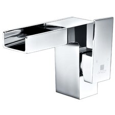 Zhona Single Handle Standard Lever Bathroom Faucet with Drain Assembly