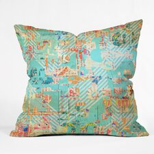 MIK 42 Throw Pillow by East Urban Home