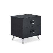 Elms 2 Drawer Nightstand