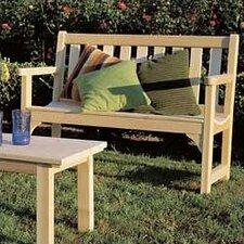 Cedar English Wood Garden Bench